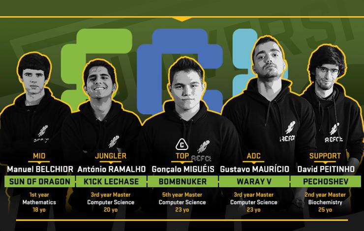 """FCT NOVA vence Campeonato Europeu Universitário de """"League of Legends"""""""