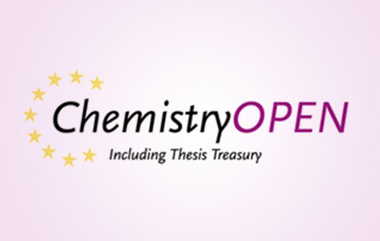 """Convite à participação em número especial da revista """"Chemistry Open"""" da editora"""
