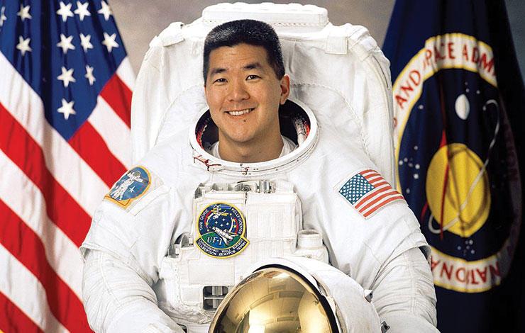 Daniel Tani, antigo astronauta da NASA, na FCT NOVA