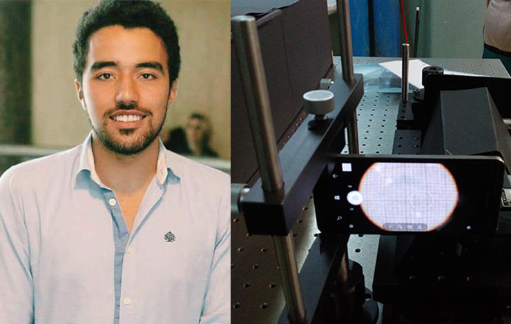 Aluno de Engenharia Biomédica desenvolve tecnologia que auxilia diagnóstico de d