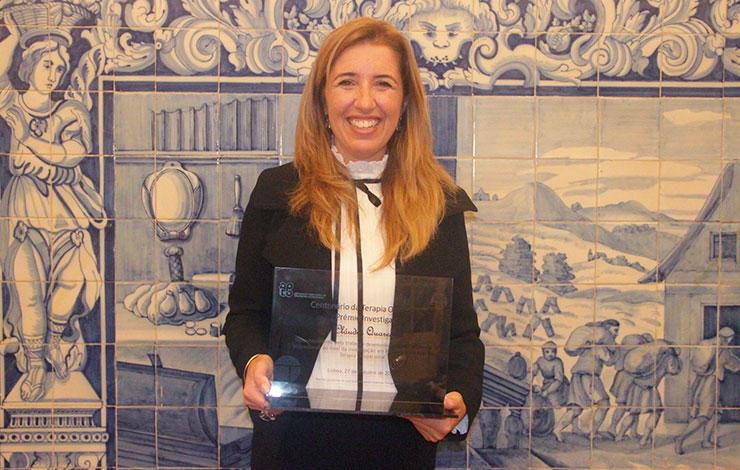 Professor Cláudia Quaresma distinguished with the ''Prémio Investigação''
