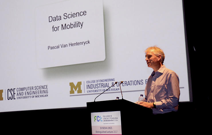 """Distinguished Lecture """"Data Science for Mobility"""""""