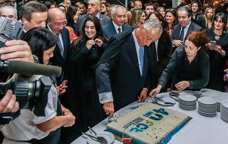 Portuguese President of the Republic at FCT NOVA 40th Anniversary