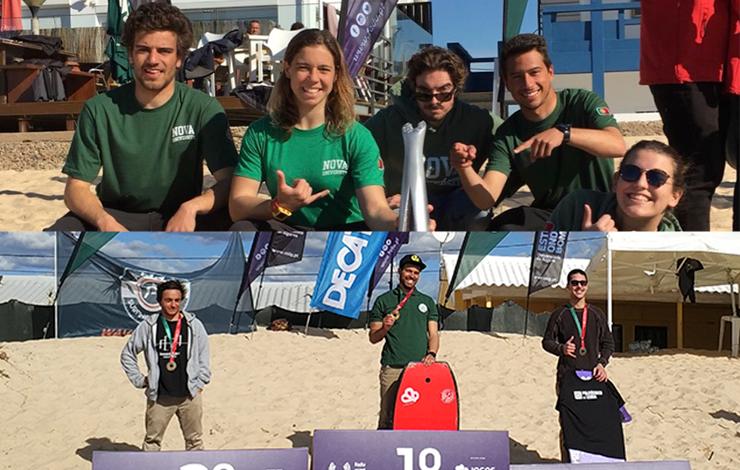 NOVA nos Campeonatos Nacionais Universitários de Surf e de Bodyboard