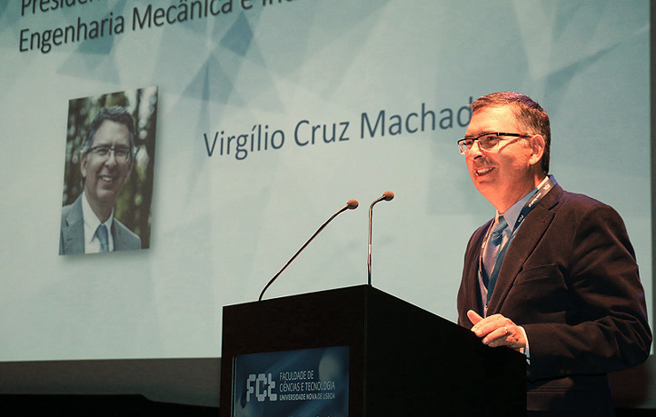 Prof. Doutor Virgílio C. Machado, eleito Novo Director FCT NOVA