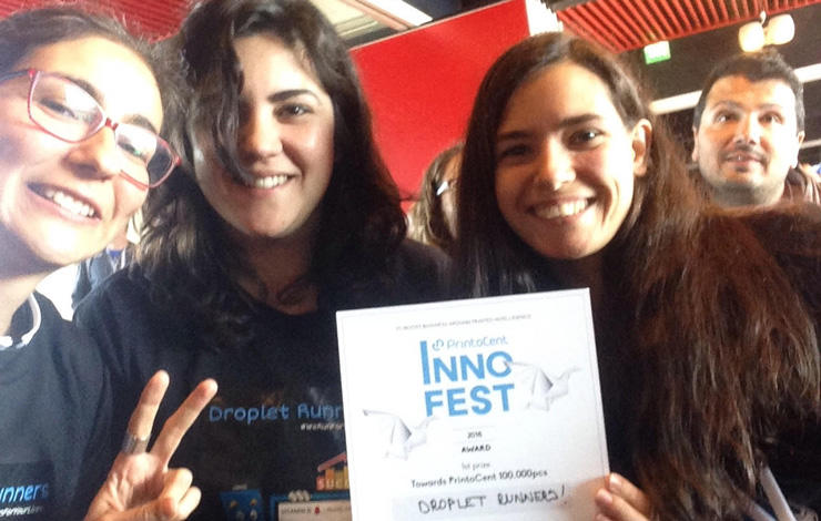 Droplet Runners vence concurso INNOFEST 2018