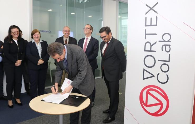 Lançamento do laboratório colaborativo VORTEX