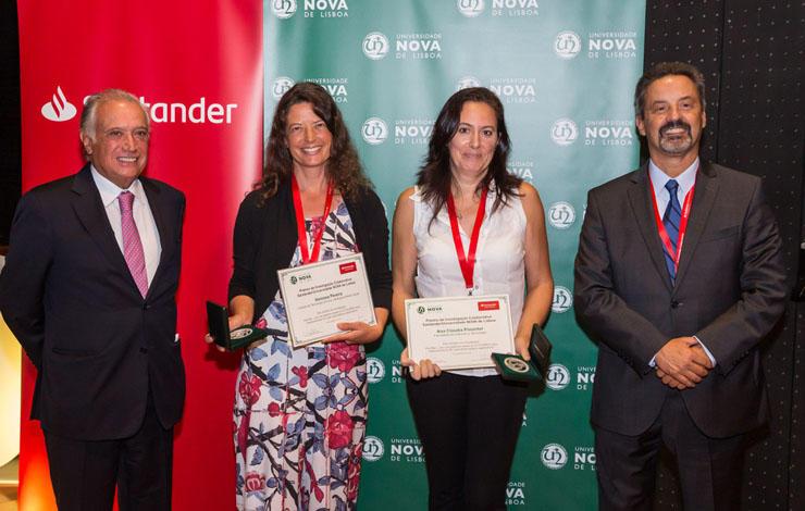 Prémio de Investigação Colaborativa Santander/NOVA