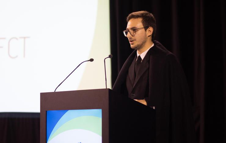 Pedro Ferreira is the new aefct president