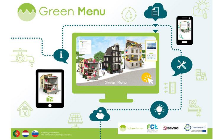 Menu de Renovação Verde