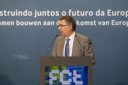 PRIMEIRO-MINISTRO HOLANDÊS E PRIMEIRO-MINISTRO PORTUGUÊS na FCT
